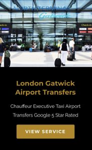 Manchester to London Gatwick Airport Transfer
