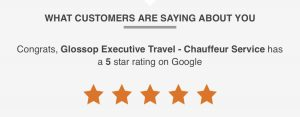 Google 5 Star Rated Luxury Chauffeur Service